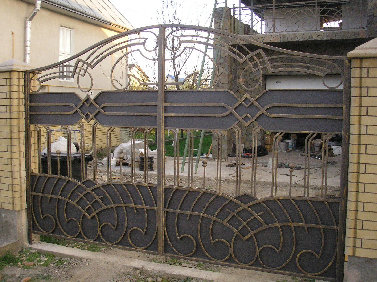 Ворота (стиль 1)