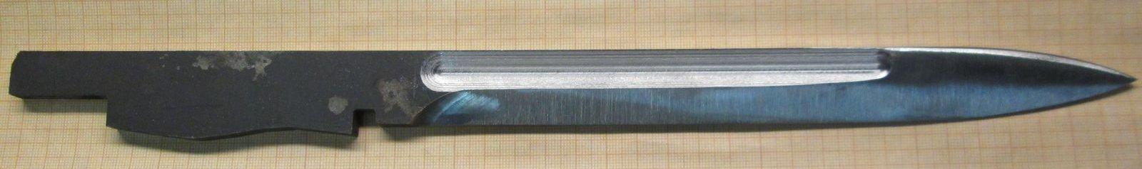 Изделие под галтовку - заготовка ножа