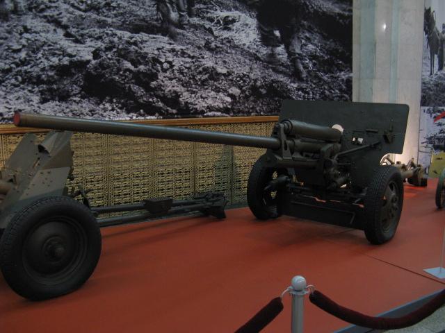 57-мм противотанковая пушка ЗИС-2 образца 1943г.