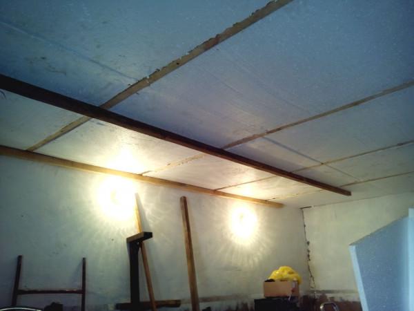 Потолок обрешетка