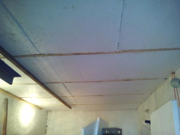 Потолок первый слой