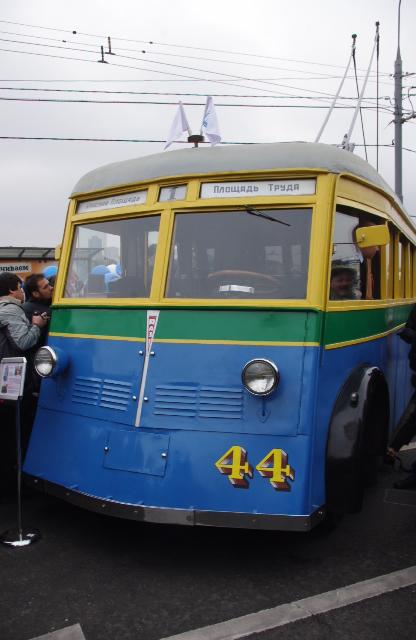 ЯТБ-1, привезен из Питера