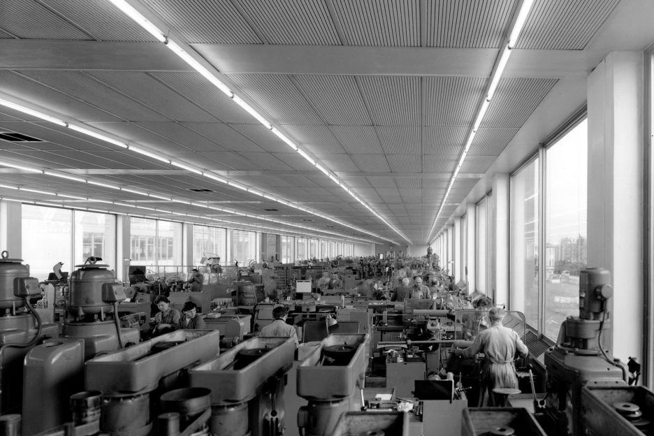 Завод Deckel, г. Мюнхен