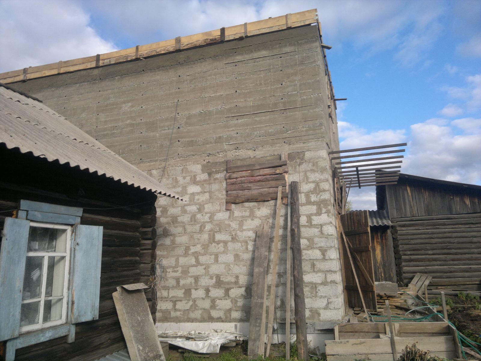 Второй этаж (Снаружи) высота 2.7м