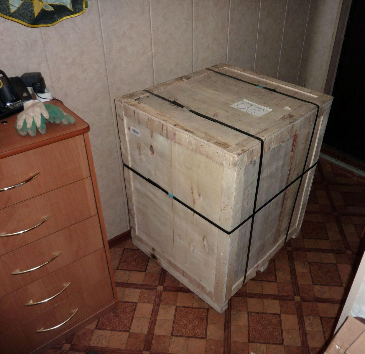 Ящик с станком.