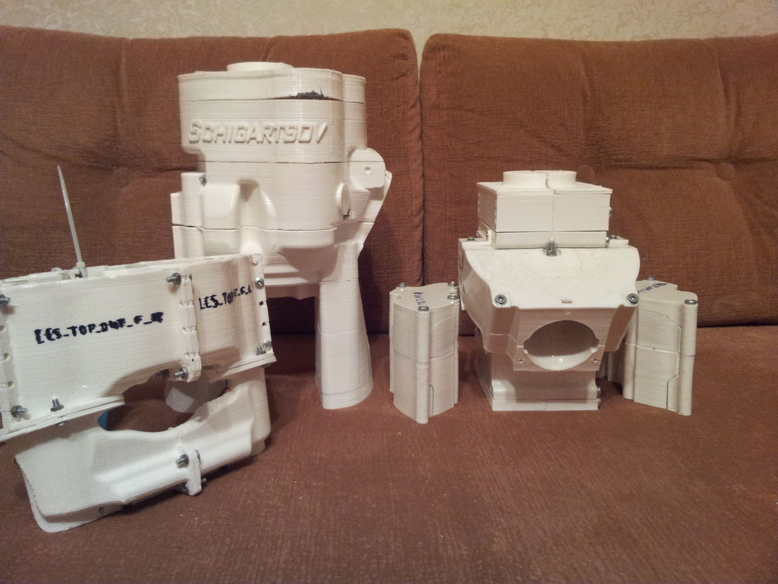 Пластиковые формы-модели
