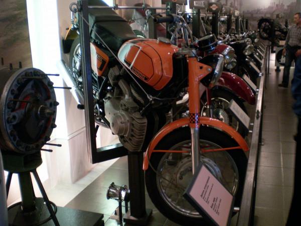 Часть мотоциклетной коллекции.
