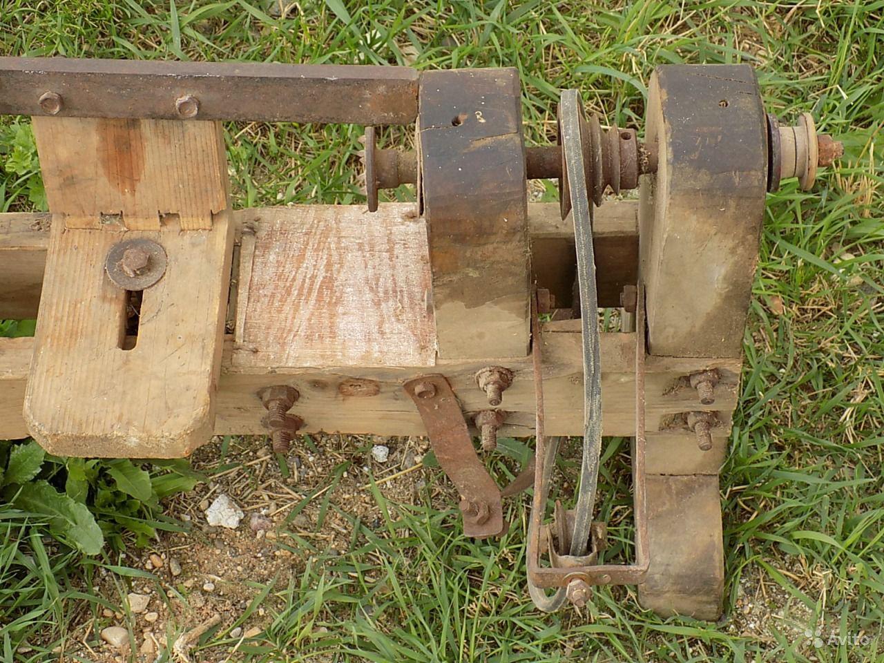 Старинный токарный