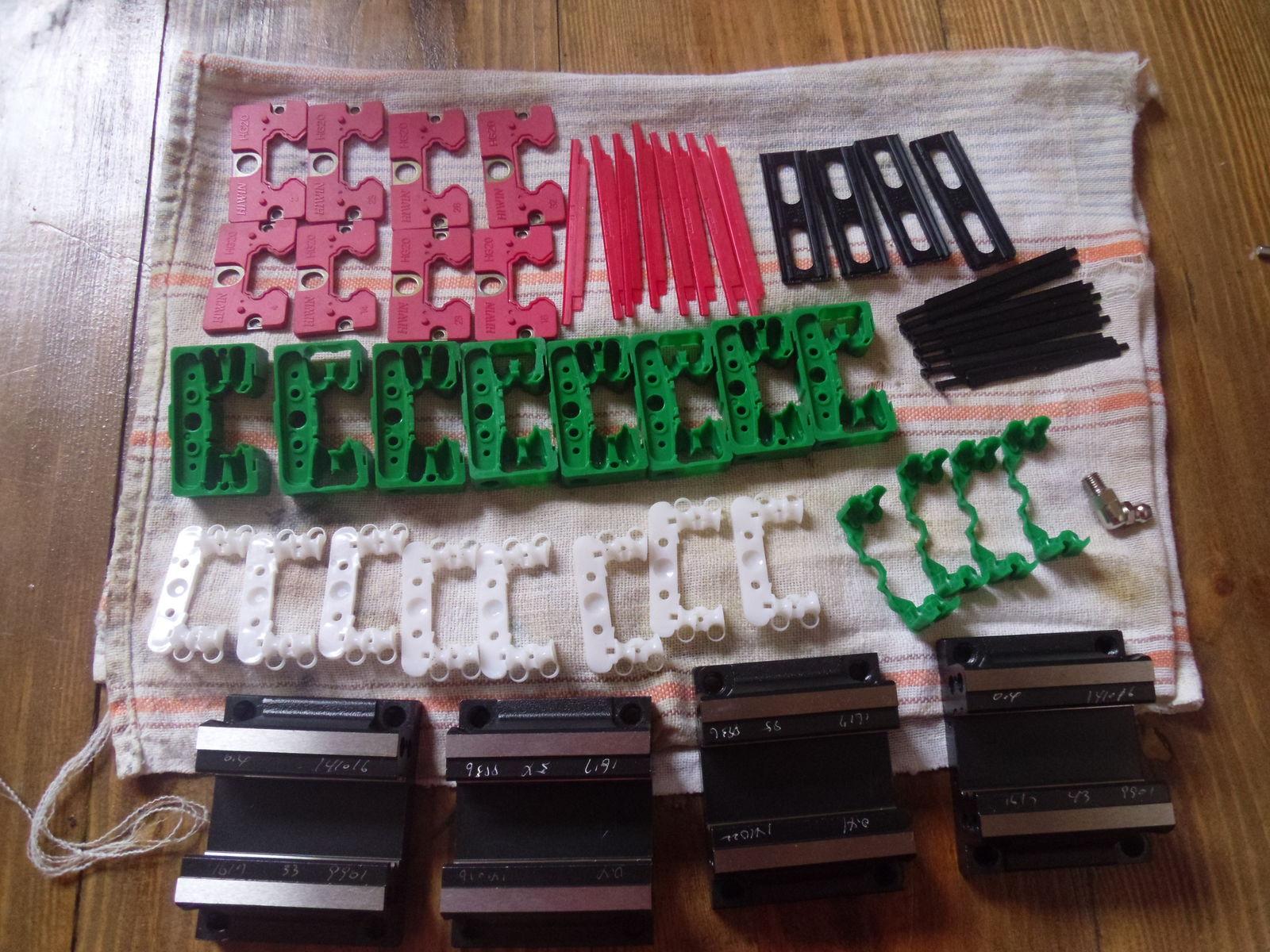 Комплект LEGO для сборки 4х кареток