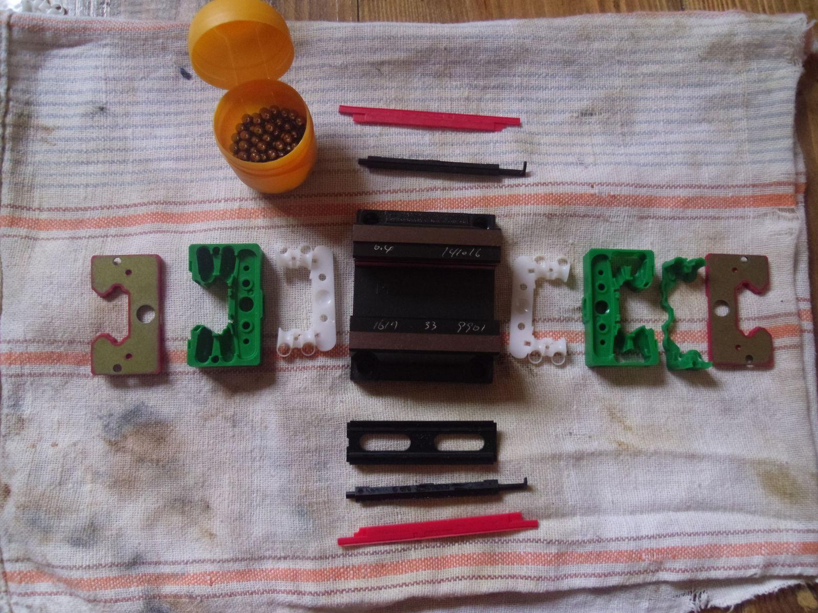 Комплект LEGO для сборки 1 каретки