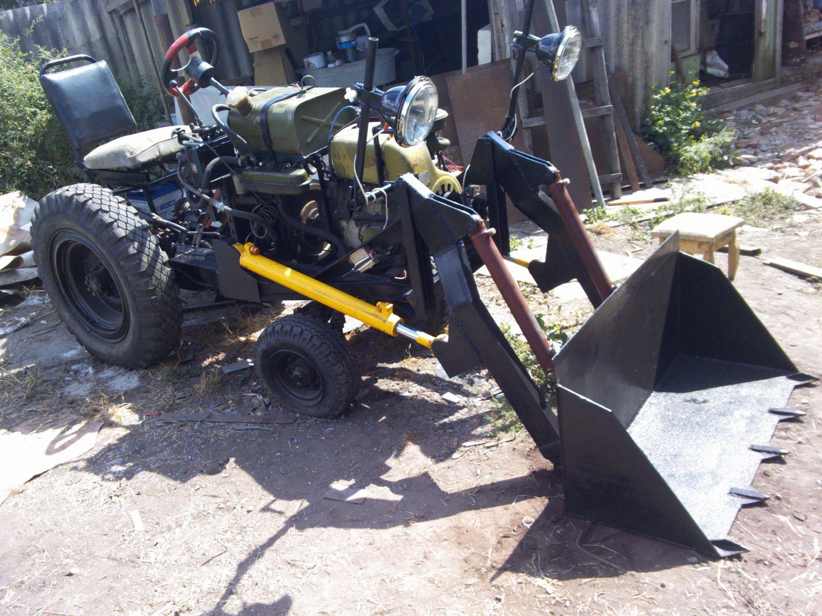 Ксеноновый тракторена - помощник.
