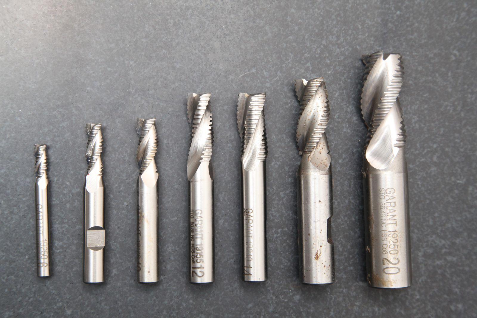 Грубые фрезы для алюминия HSS-Co8