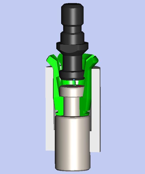 Доработка шпинделя 67К25 под штревель DIN69872