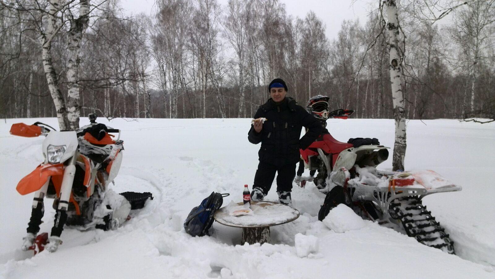 перекус на природе))))