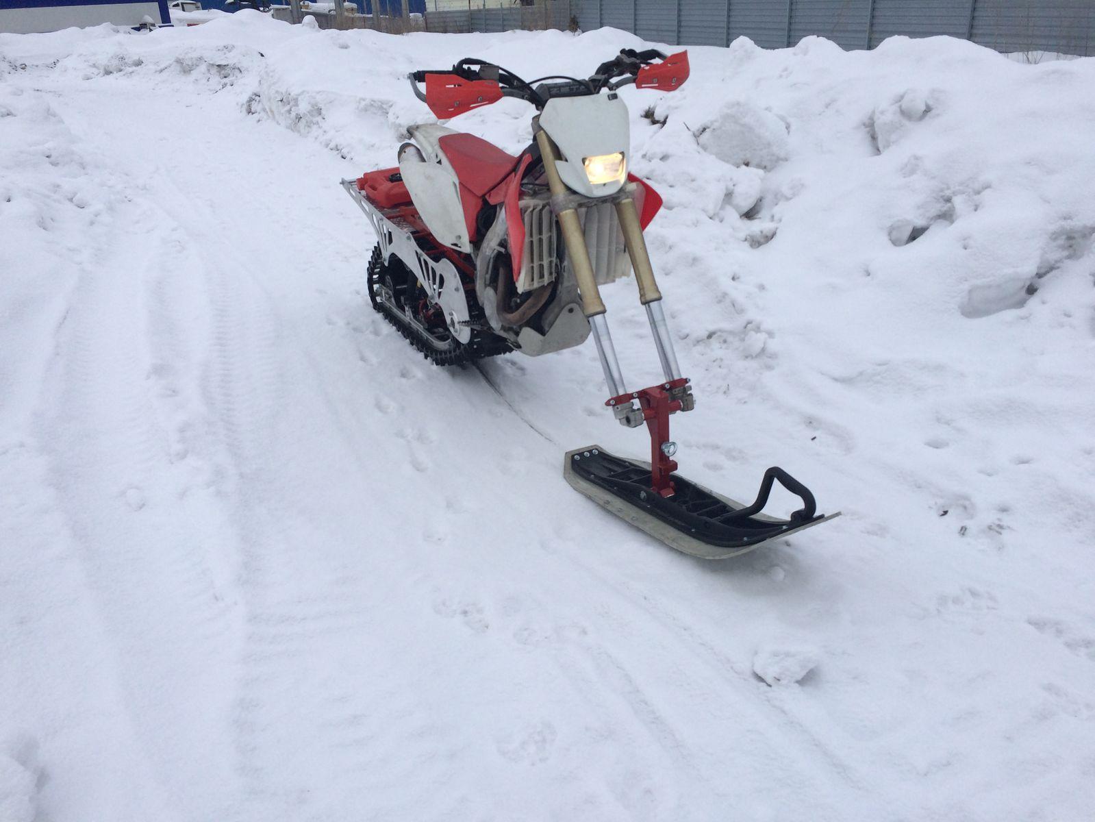 тест новой лыжи))