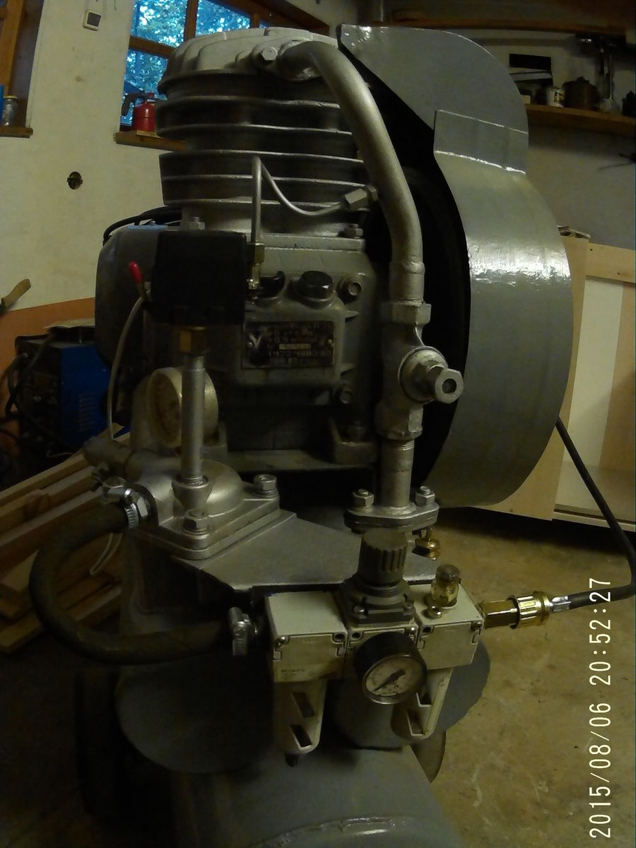 Обратный клапан на СО-7Б