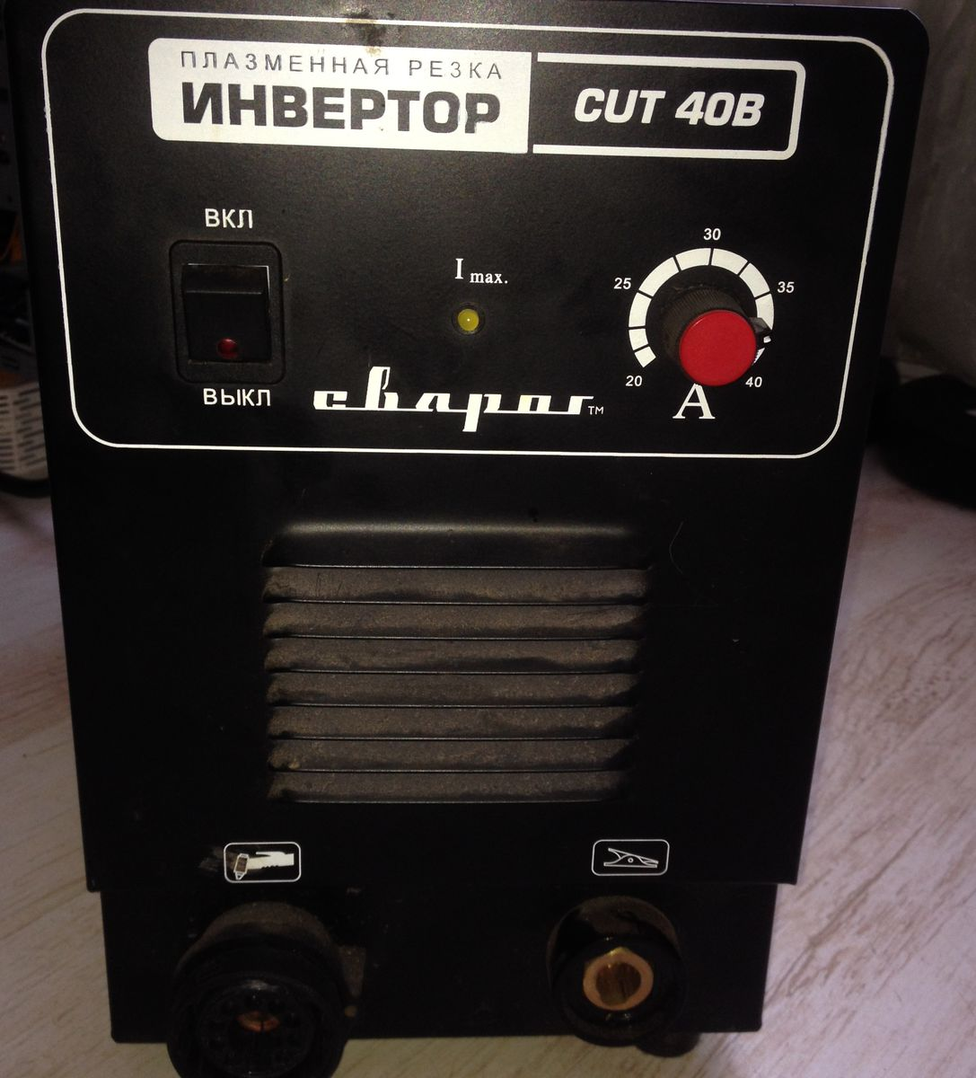 передняя панель Сварог CUT40B