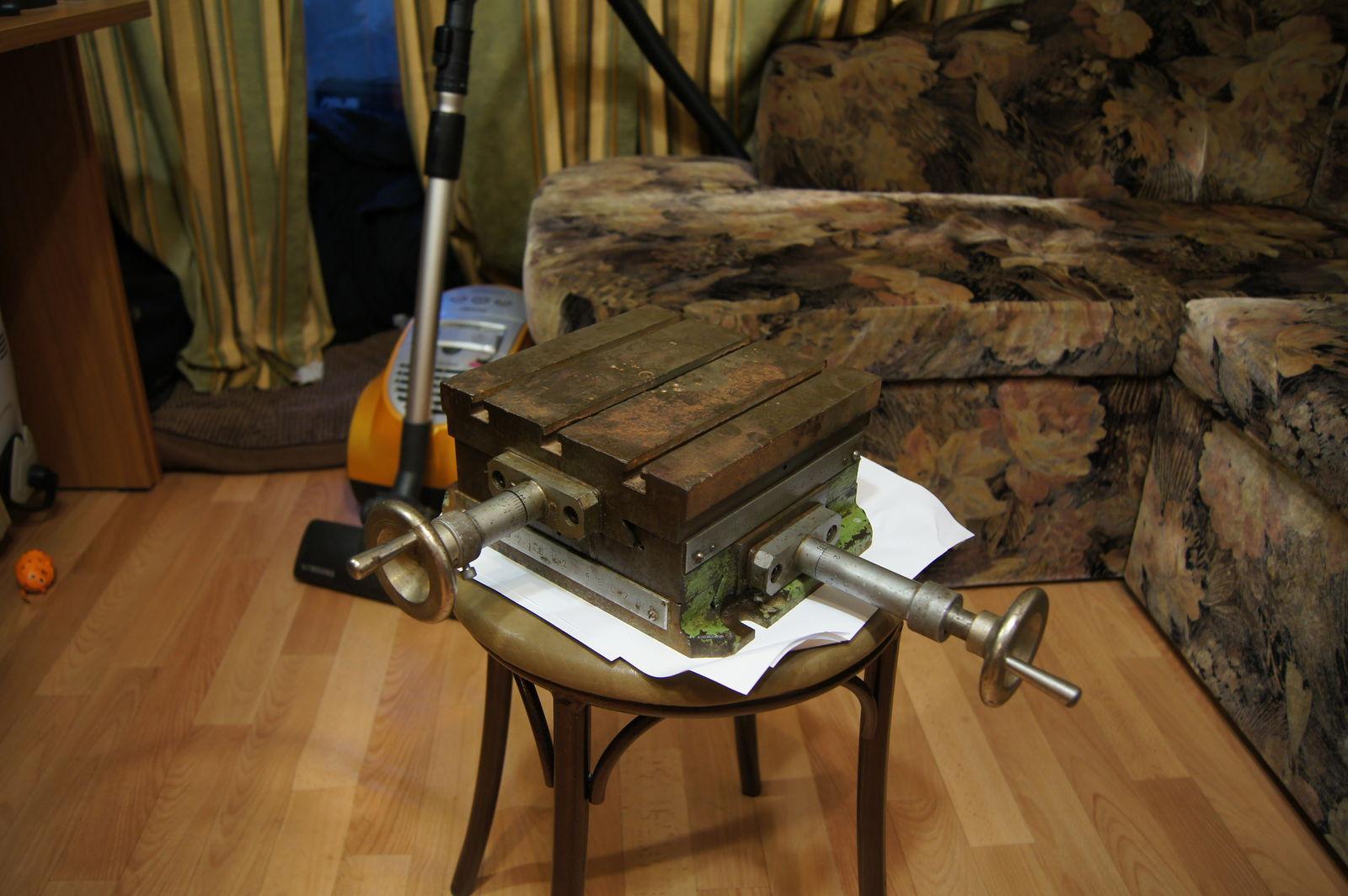 Крестовый стол для сверлилки 2М112