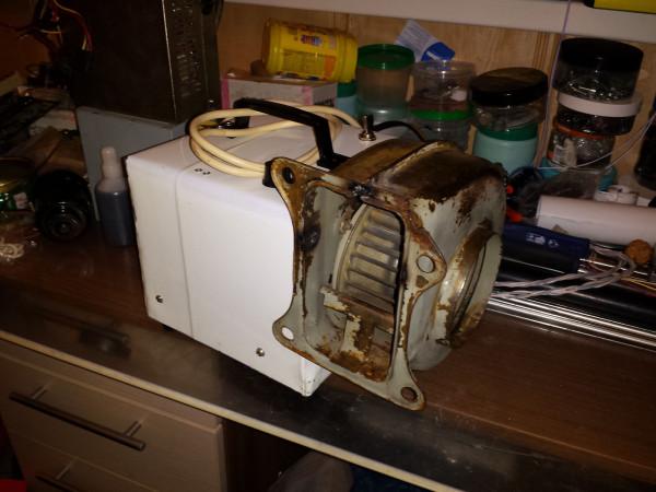 Вентилятор-улитка с двигателем от стиральной машины 1.