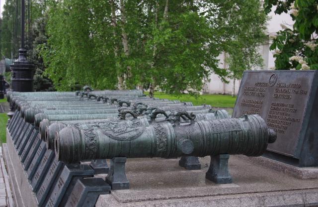 Русские боевые орудия 17-18 веков.