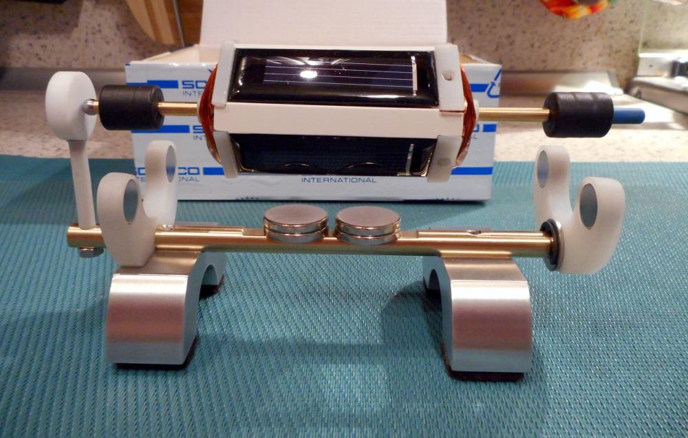 Мендосинский солнечный мотор (Mendocino solar motor)