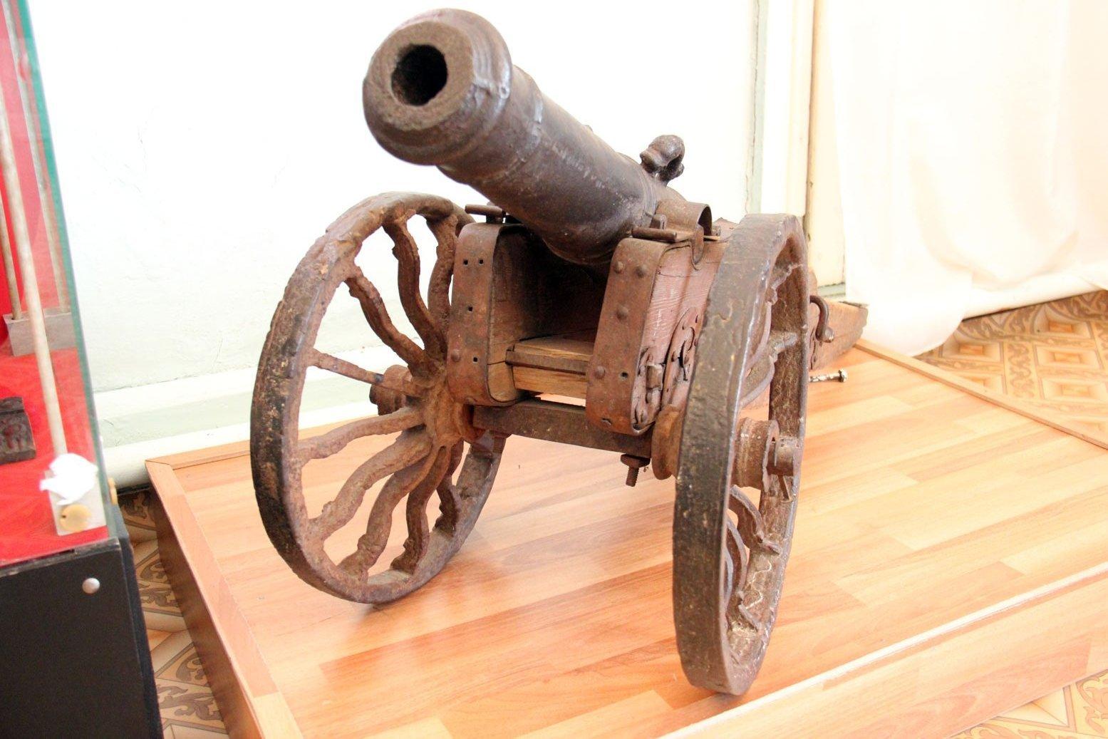 Пушка, краеведческий музей