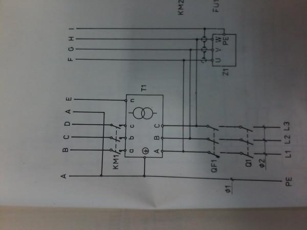 Схема питания привода
