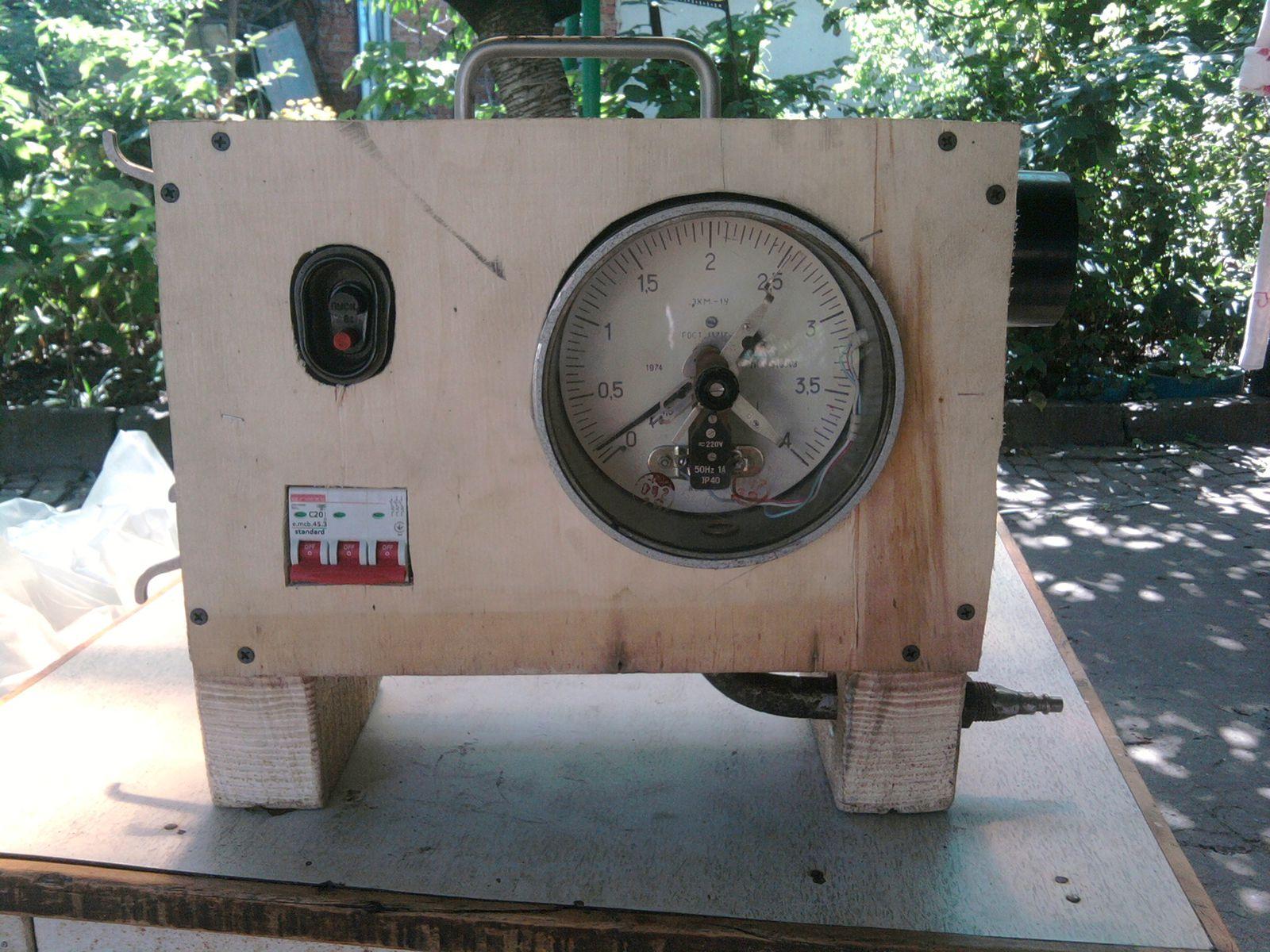 Блок управления компрессором
