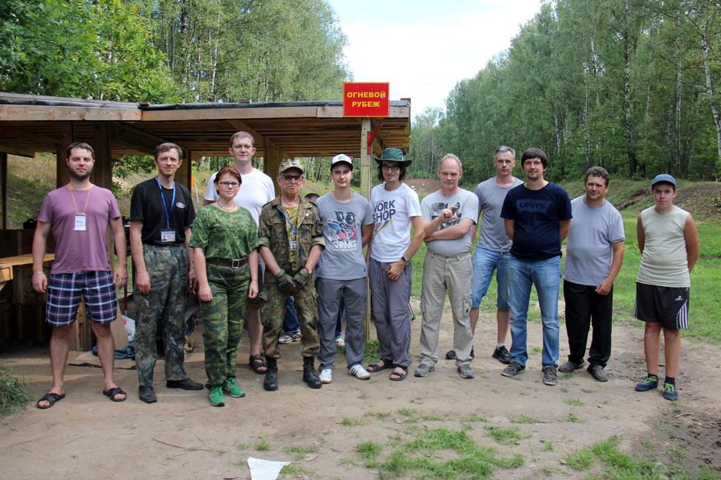 Участники, Стальной БР на 100м, 06.08.2016