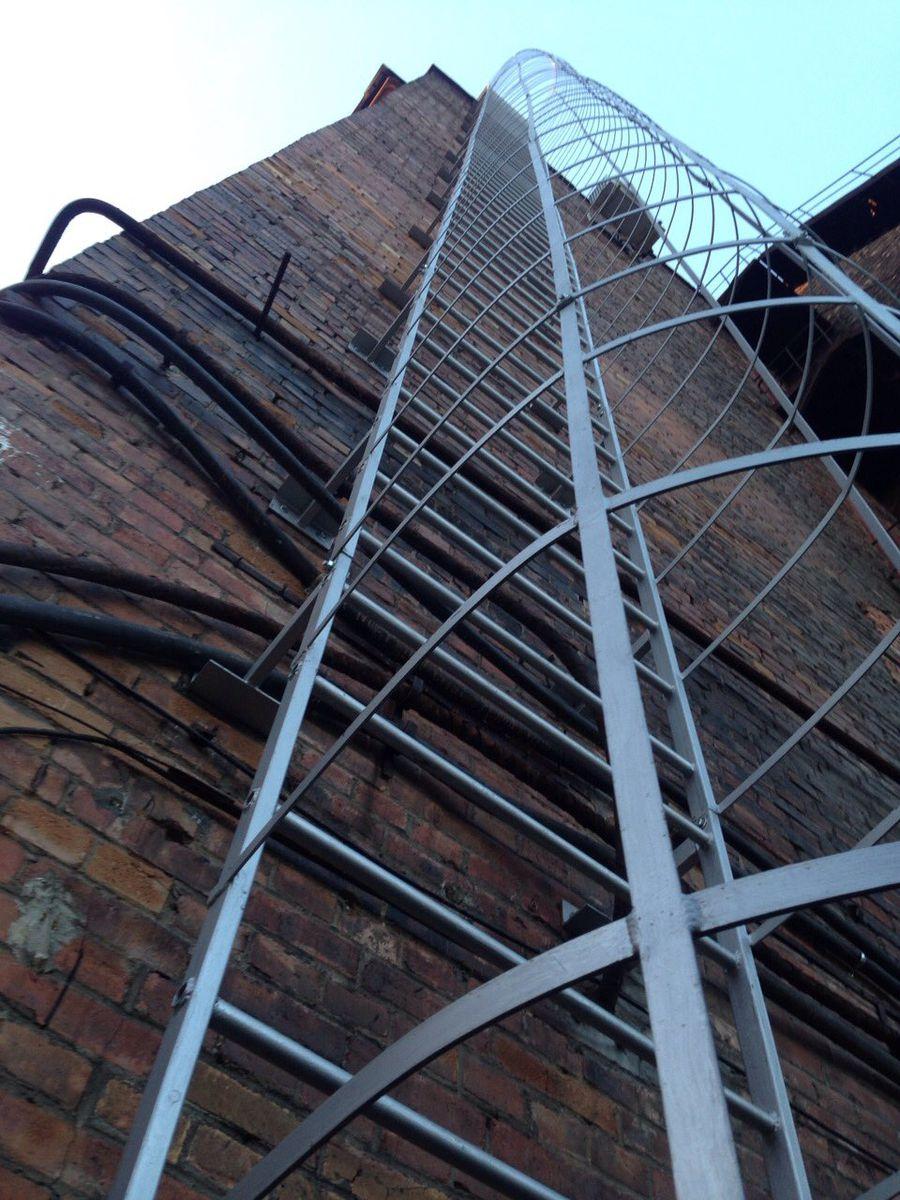 Мои работы: пожарные лестницы