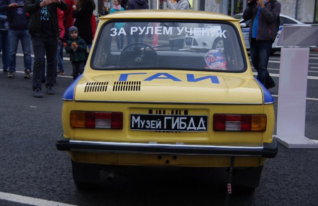 ЗАЗ-968М. Учебный.