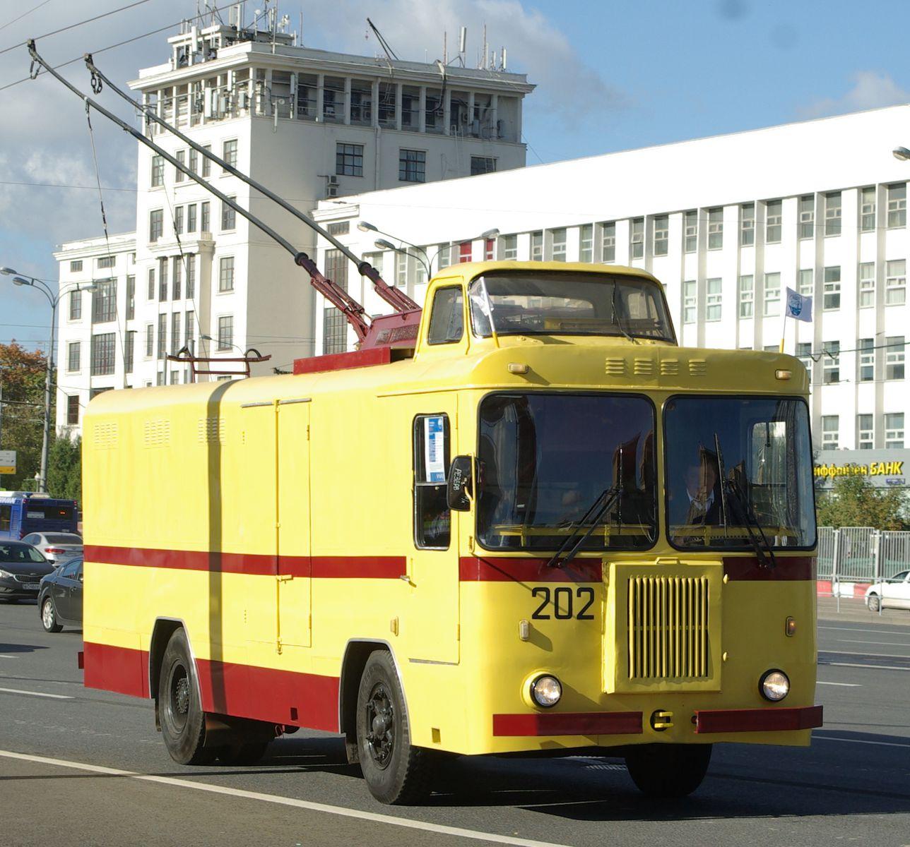 КТГ-1, грузовой, переделан в передвижную лабораторию для обследования контактной сети