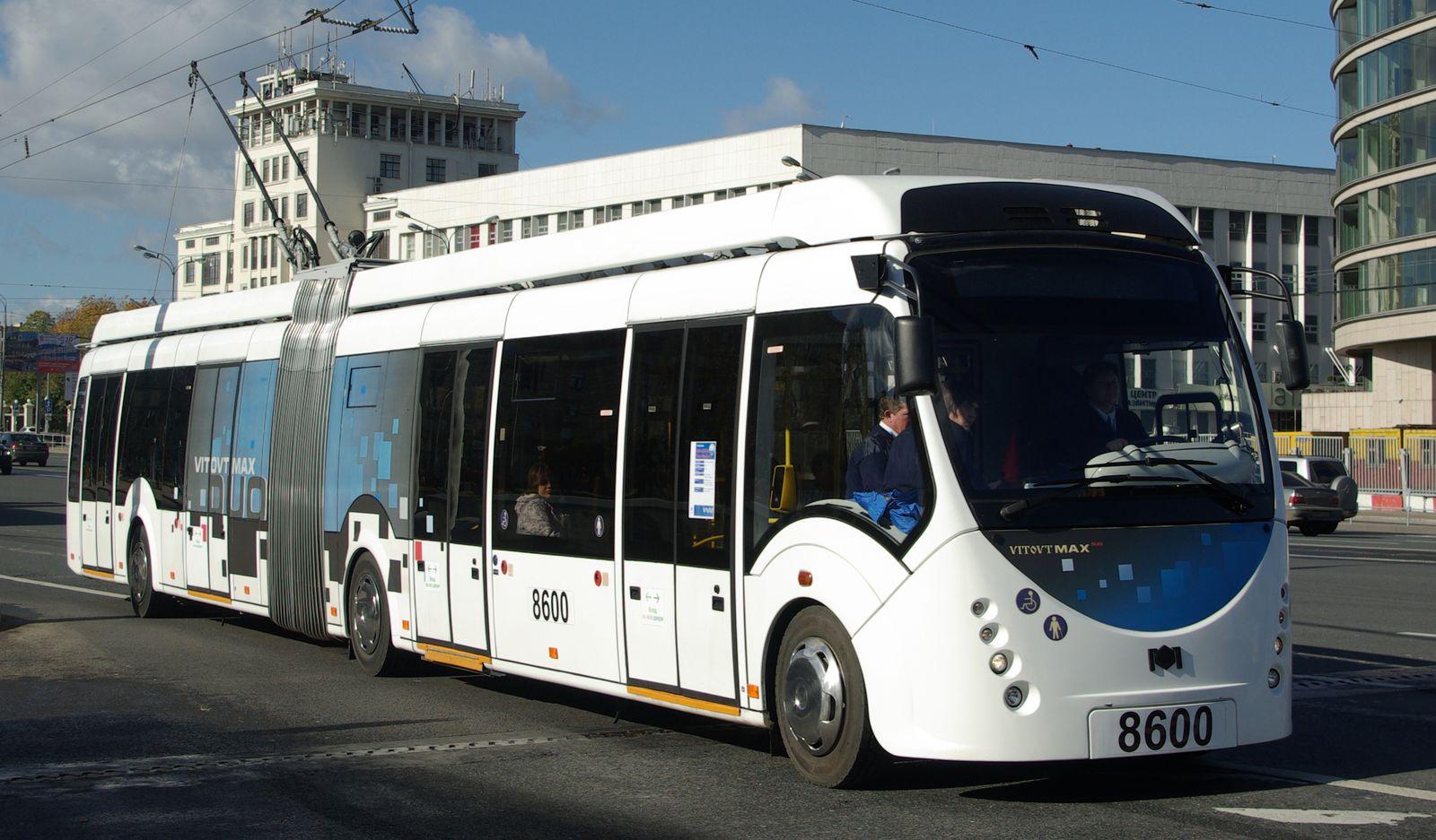 """Троллейбус """"БКМ-43300A"""" VITOVT МАХ DUO с дизель-генератором"""