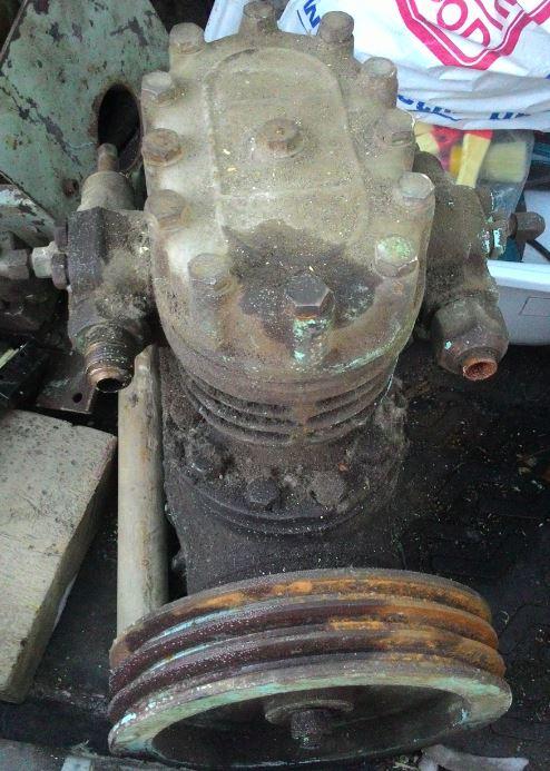 Компрессор с металлолома