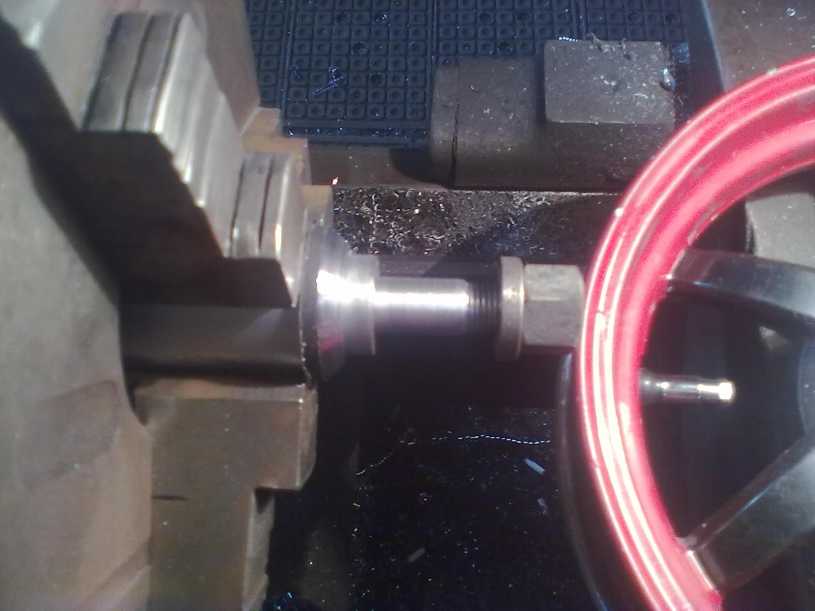 Реставрация тормозного барабана заднего легкосплавного колеса HONDA DIO.