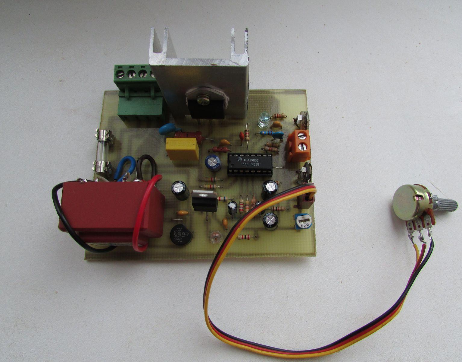 tda1085с c трансформатором