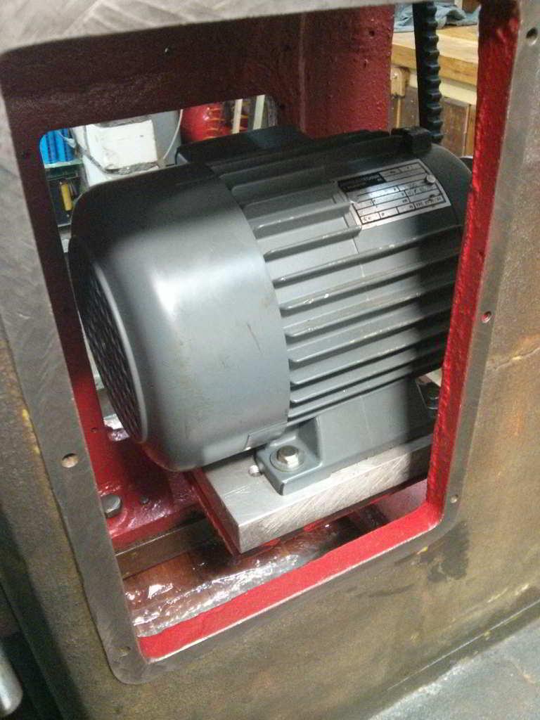 примерка двигателя