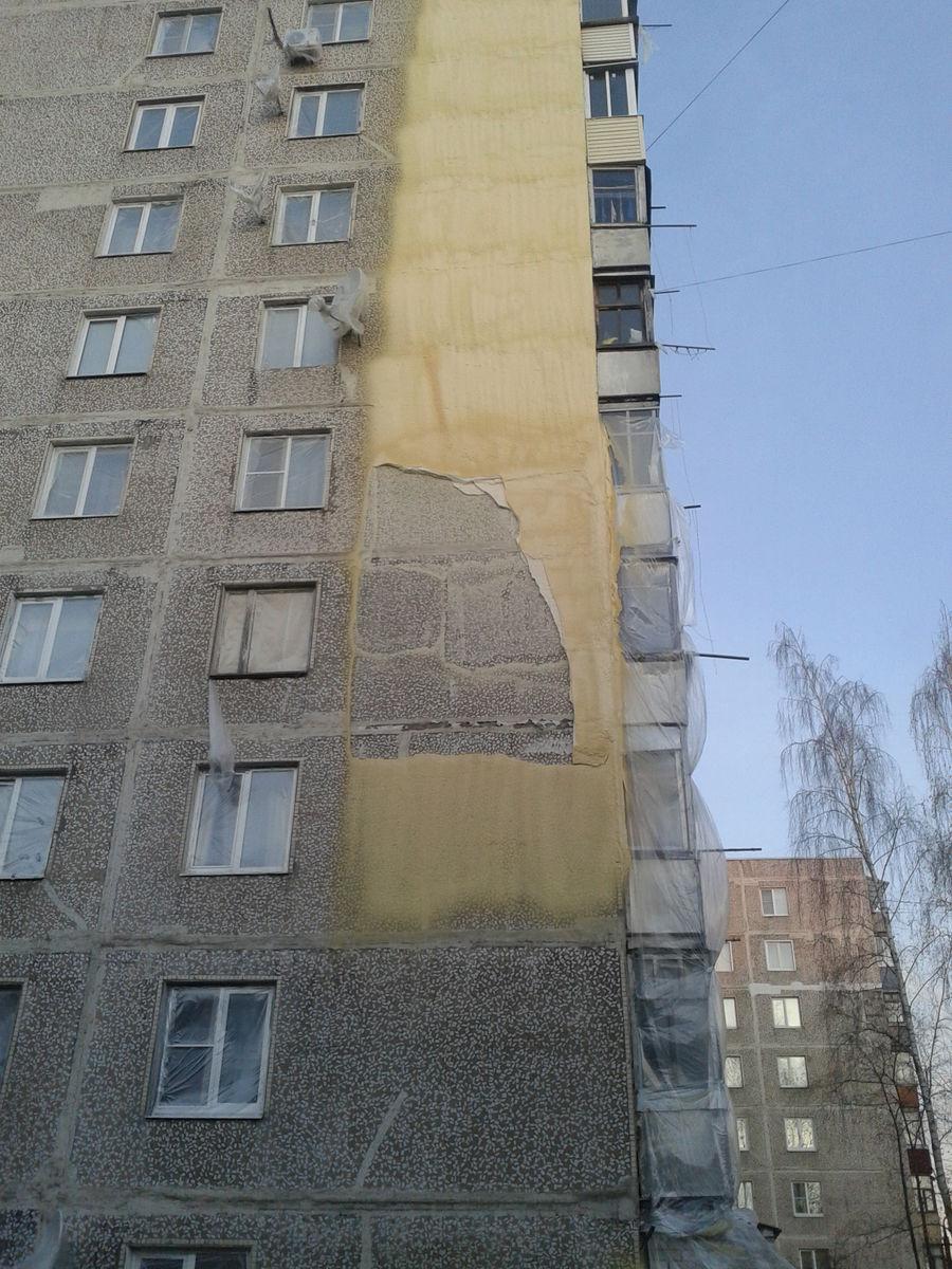 Новые технологии утепления фасадов.
