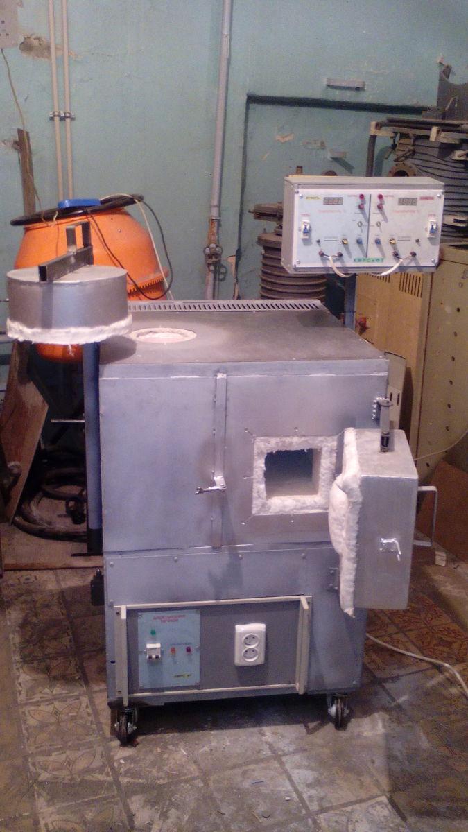 Комбинированная печь (два)