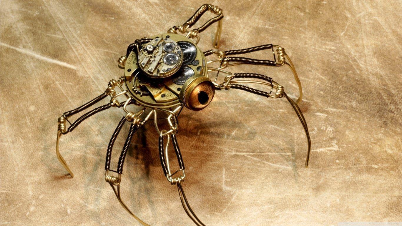 Механический паук