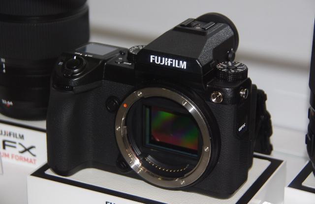 Цифровая беззеркальная камера GFX 50S.