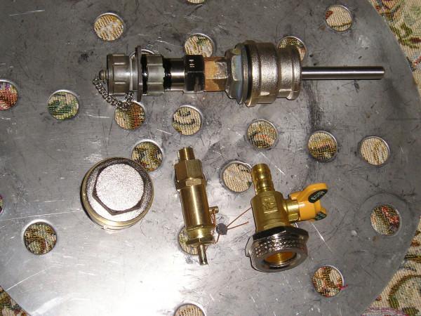 термометр и арматура