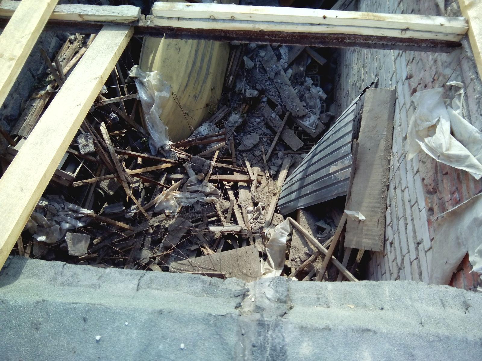 Содержание гаража после снятия старой крыши