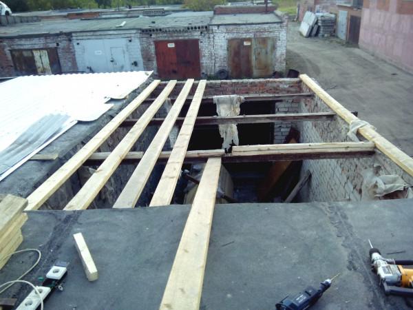 Делаю крышу