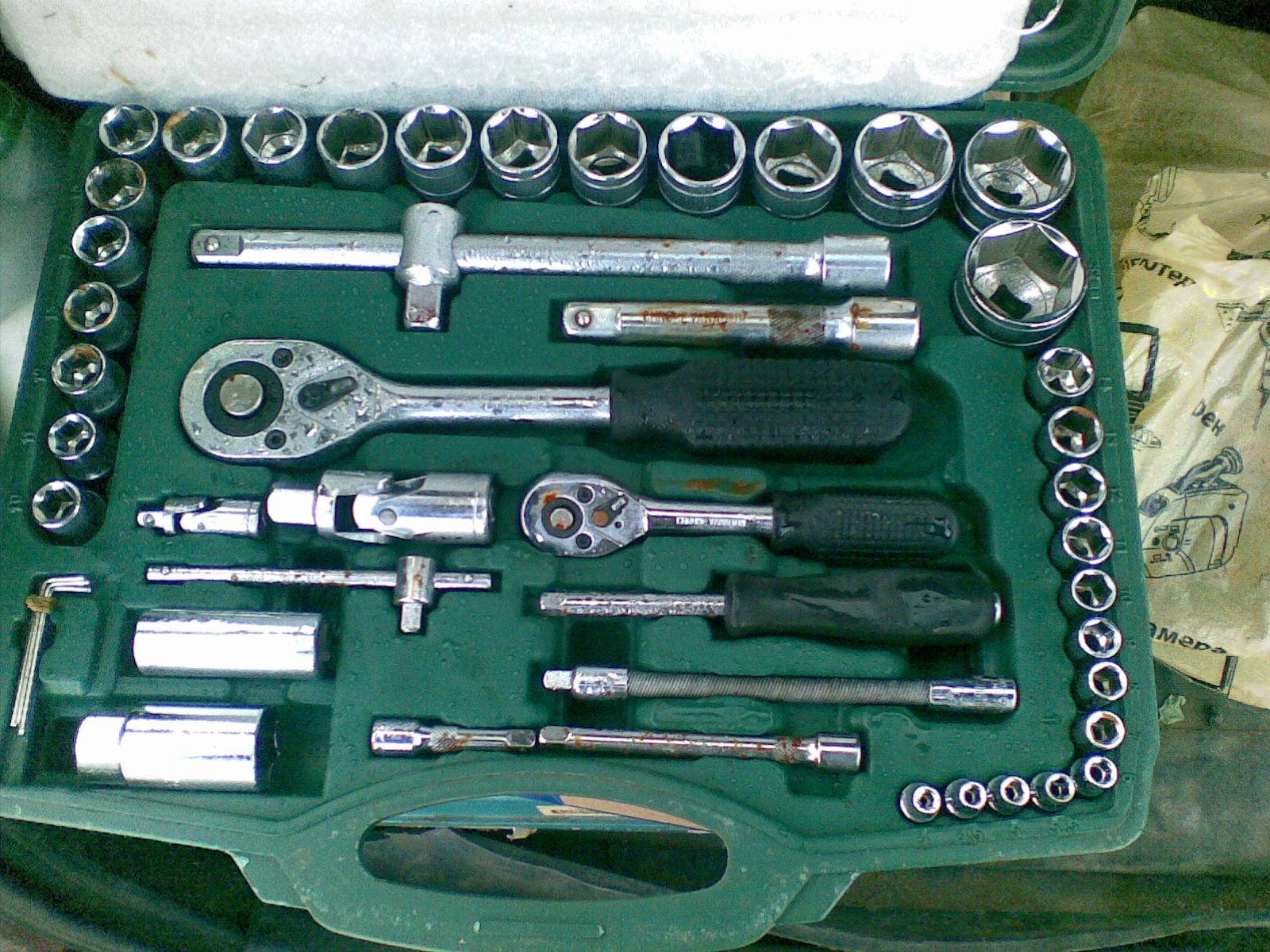 Инструмент КитаеSATA после конденсата