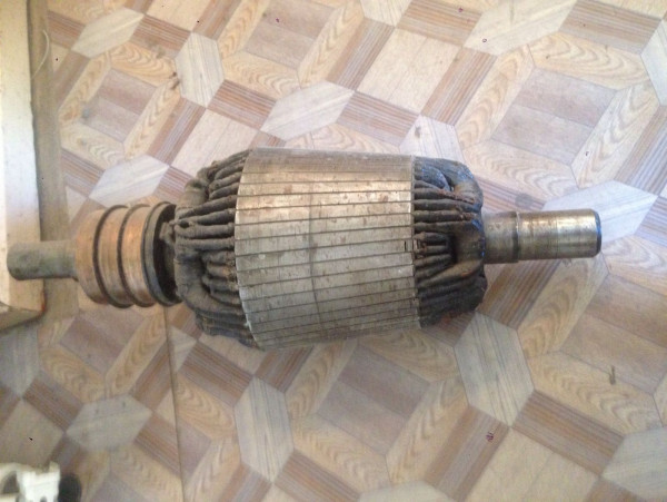 Конический ротор электомотора