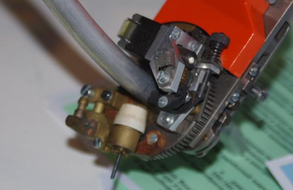 Сварочная головка для труб небольшого диаметра из алюминия и нержавейки.