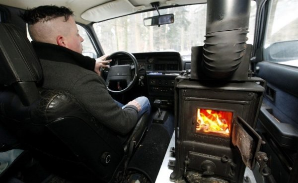 Печка в машине