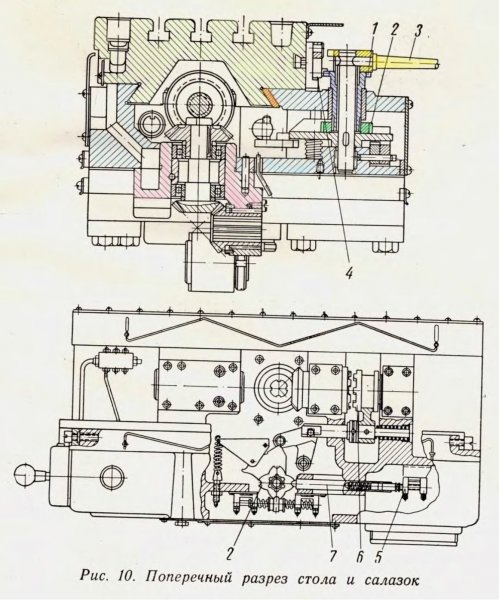 6В11. Поперечный разрез стола и салазок станка-2.jpg