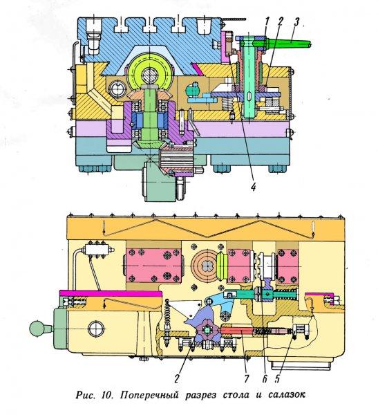 Некоторые цветные чертежи для 6В11Р